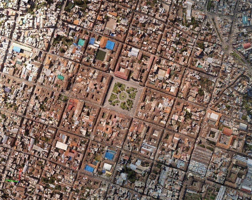 Modelado BIM urbano para Smart Cities Ayacucho