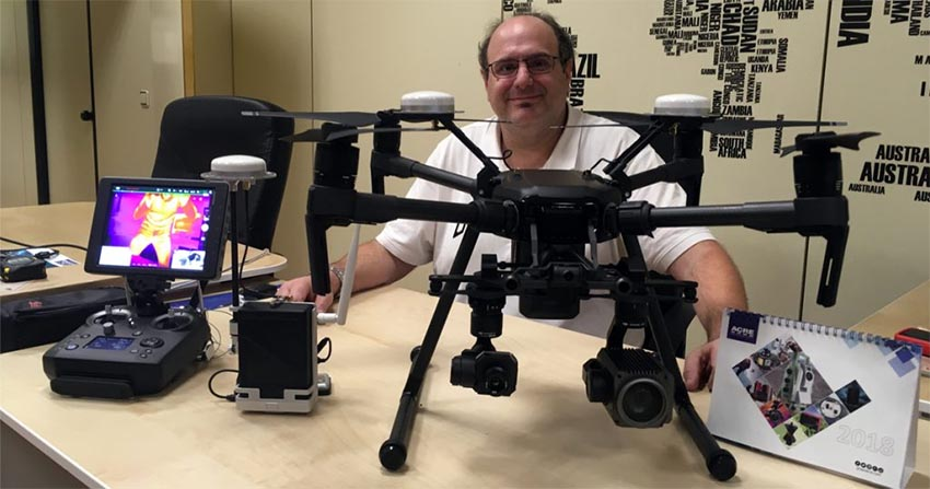 Dron Matrice 210 RTK con Zenmuse XT y Z30