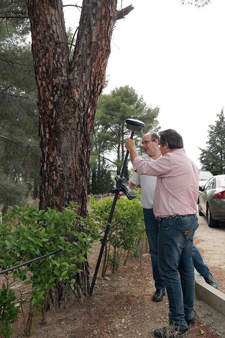 Presentación Leica GS18T