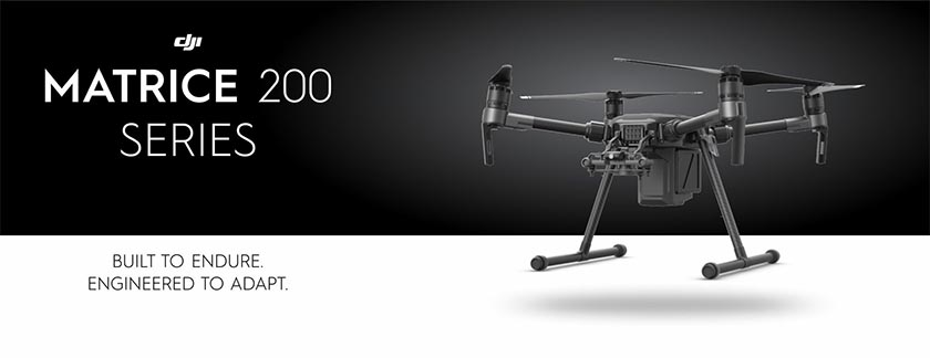 Dron DJI Matrice 200 Series