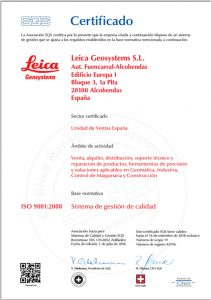 Servicio Técnico Oficial Leica Geosystems
