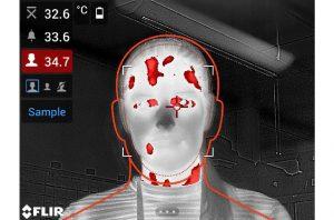 fiebre en las cámaras termográficas