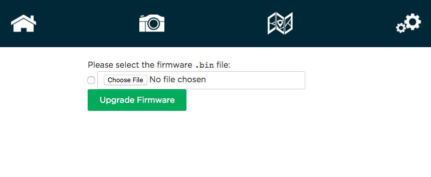 Actualización firmware